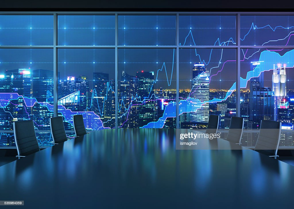interior and graph : Stock Photo