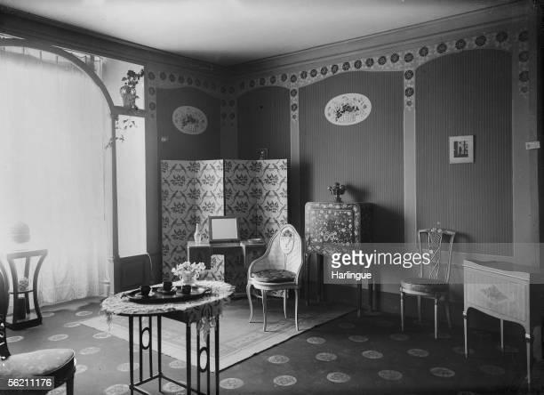 Interior Art deco. 1925.