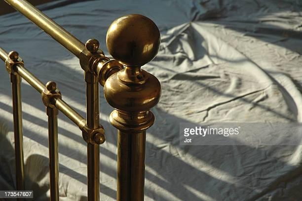 Interior - Brass bedstead