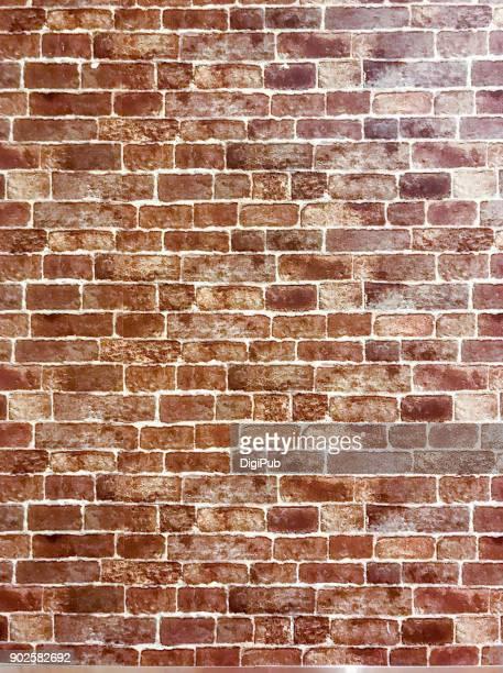 interior brick wall texture - ziegel stock-fotos und bilder