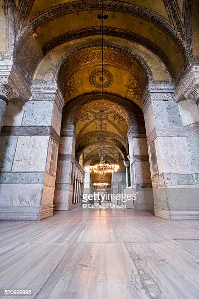 Interior corridor of Hagia Sophia