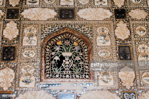 Interior decoration of the Amber Fort