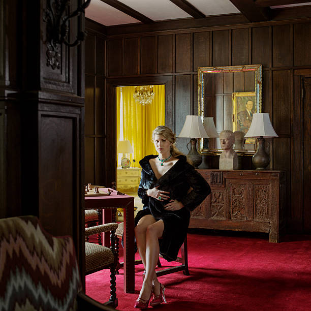 Interior decorator Asia Baker is photographed for Town & Country Magazine  on June 25, 2013