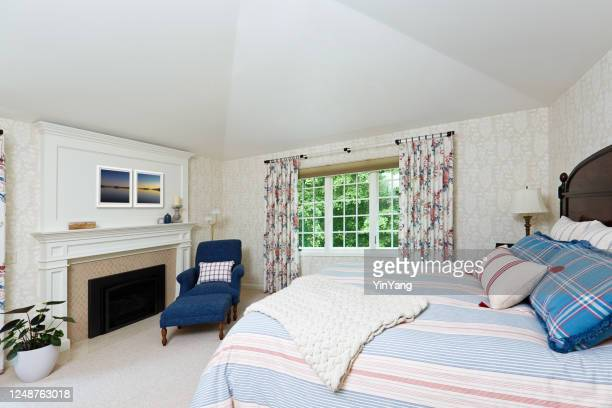 interior design bedroom decoration of residential home - istock images stock pictures, royalty-free photos & images