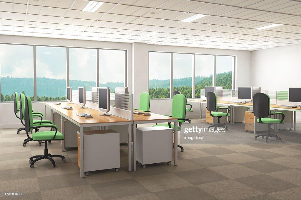modern interior office stock. Design Of Office. Interior Modern Office : Stock Photo E