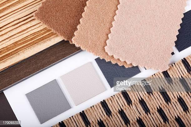 Amostra de Design Interior Materialization