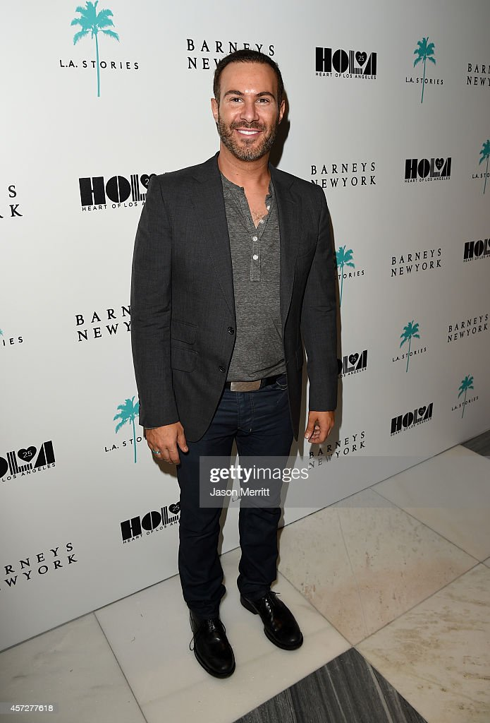 Interior Designer Adam Hunter Attends A Cocktail Event With Barneys News Photo Getty Images