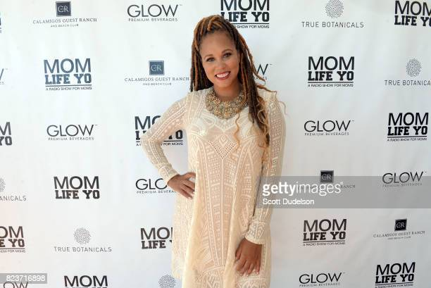Interior designer and 'Mom Life Yo' cohost Breegan Jane attends the 'Celebrity Evening of Wellness' at Calamigos Beach Club on July 27 2017 in Malibu...
