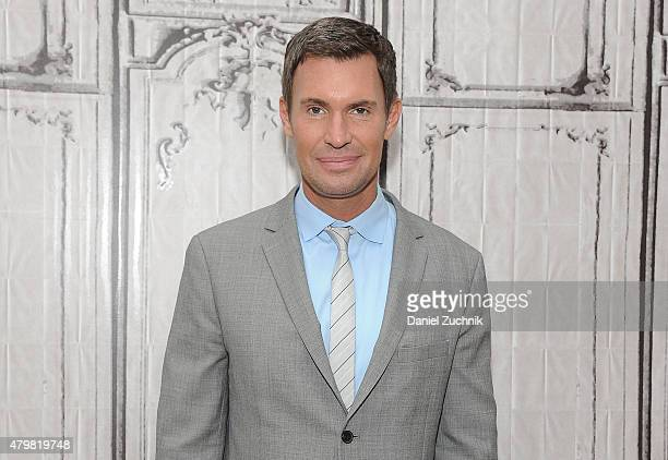Interior Designer Jeff Lewis attends AOL Build to discuss his show 'Flipping Out' at AOL Studios In New York on July 7 2015 in New York City