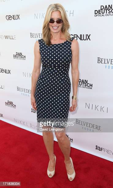 Interior designer Kelly Emberg attends the Genlux Summer Issue Release Party hosted by Brooke Burke Charvet at the Luxe Rodeo Drive Hotel on June 28...