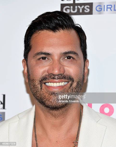 Interior designer Luigi Irauzqui arrives at the America's Next Top Model Cycle 21 Premiere Party Presented By NYLON and LINE at SupperClub Los...