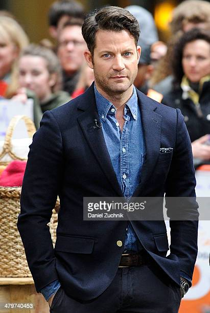 Interior designer Nate Berkus appears on the set of NBC's 'Today' at Rockefeller Plaza on March 20 2014 in New York City