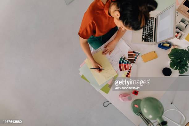 architecte - designer photos et images de collection