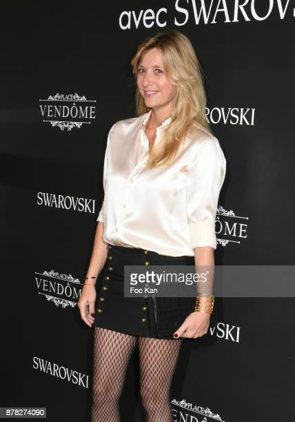 Interior designer Sarah Lavoine attends the 'Vogue Fashion Festival' Opening Dinner on November 23 2017 in Paris France