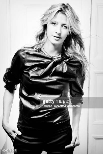 108009011 Interior designer Sarah Lavoine is photographed for Madame Figaro on October 11 2013 in Paris France Top necklace CREDIT MUST READ Philippe...