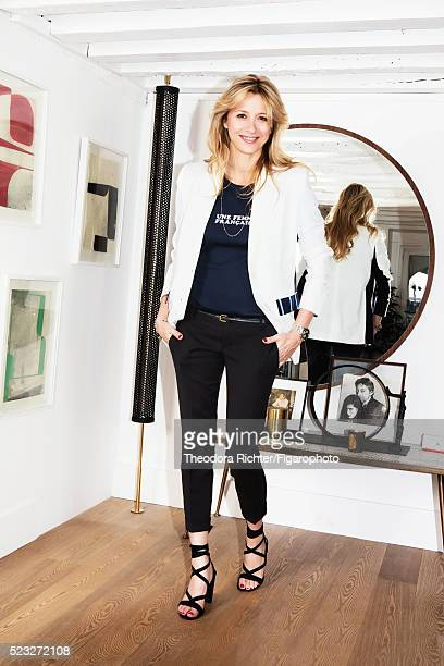 Interior designer Sarah Lavoine is photographed for Madame Figaro on February 24 2016 in Paris France CREDIT MUST READ Theodora...
