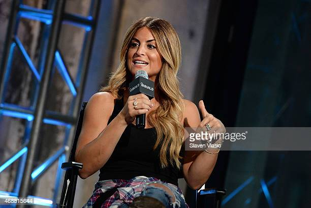 Interior designer/TV personality Alison Victoria visits AOL BUILD Speaker Series Alison Victoria at AOL Studios In New York on April 7 2015 in New...