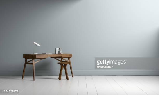espaço de cópia da mesa interior - copy space - fotografias e filmes do acervo