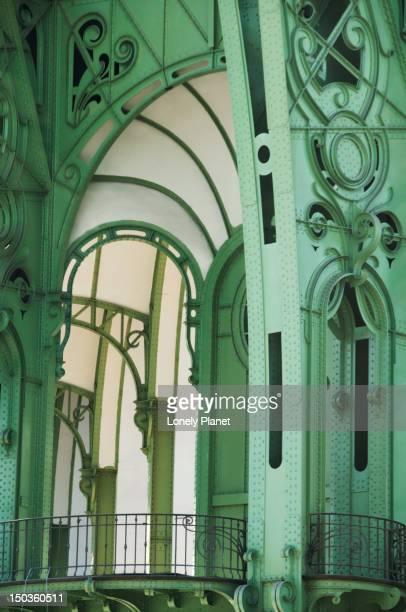 Interior detail of Grand Palais.