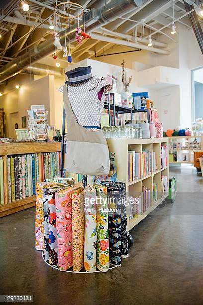 interior display in craft store - the last bookstore los angeles stock pictures, royalty-free photos & images