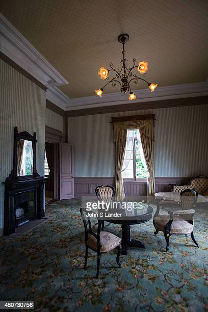 Interior Drawing Room at Jinpukaku Mansion built by Nakahiro Ikeda and designed by architect Katayama Tokuma The building was completed in 1907...