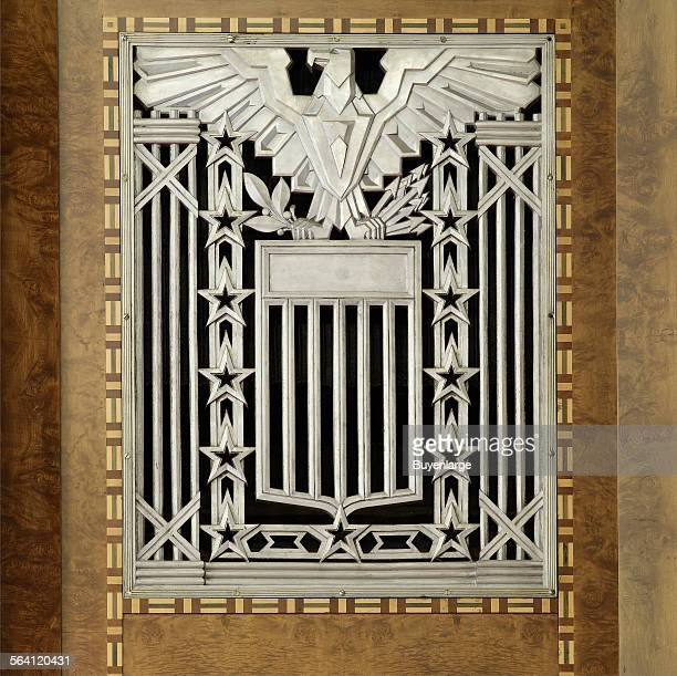Interior grill detail James T Foley US Post Office and Courthouse Albany New York