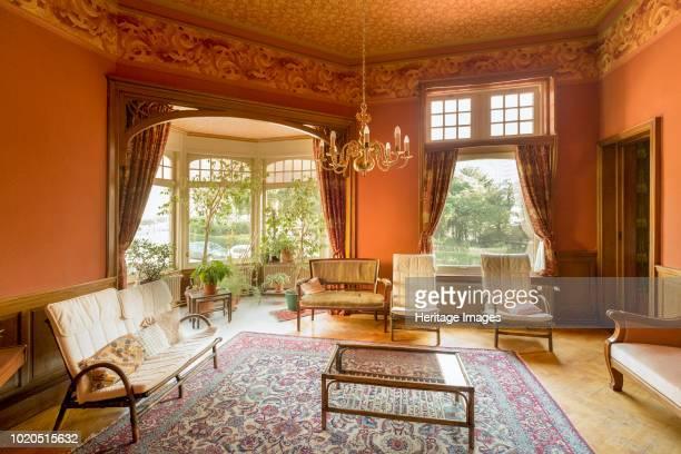 Interior. House of the Quakers, 50 Square Ambiorix, Brussels, Belgium, circa 2014-2017. Georges Hobe: 1899.