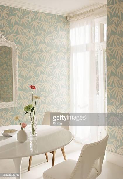 Interior image of dining room