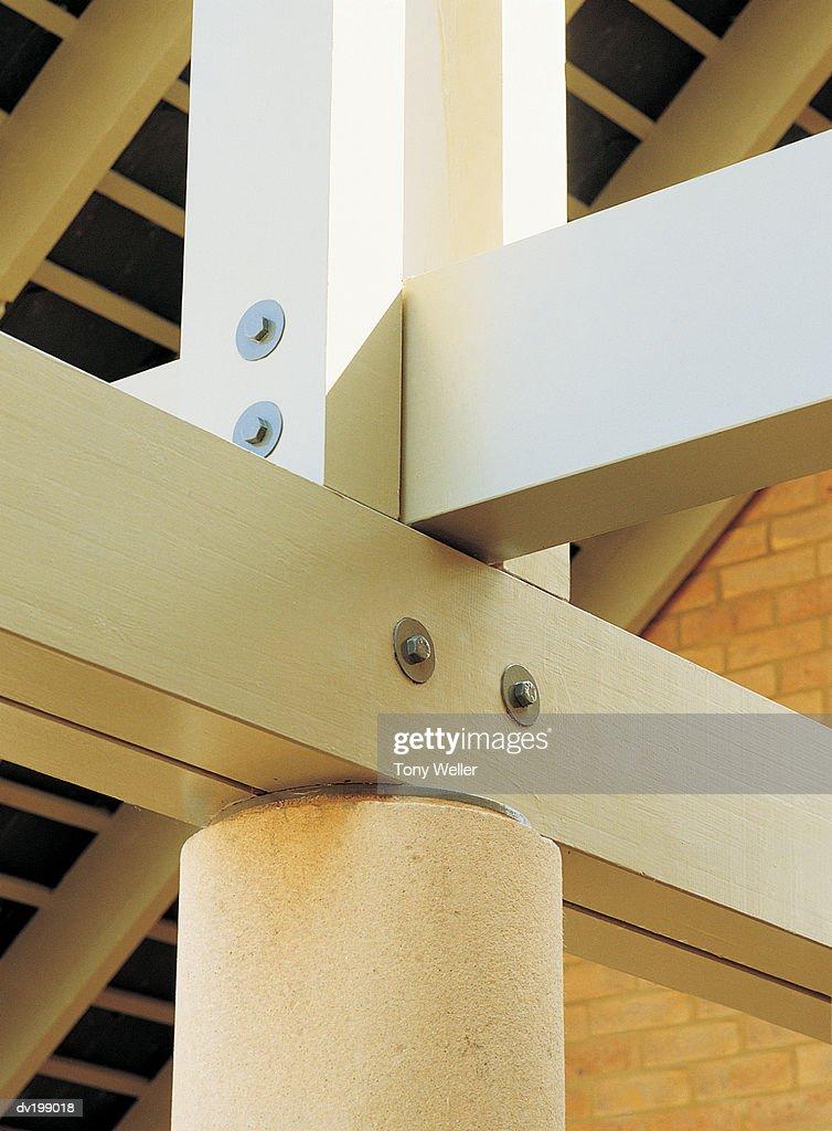 Interior joists : Stock Photo