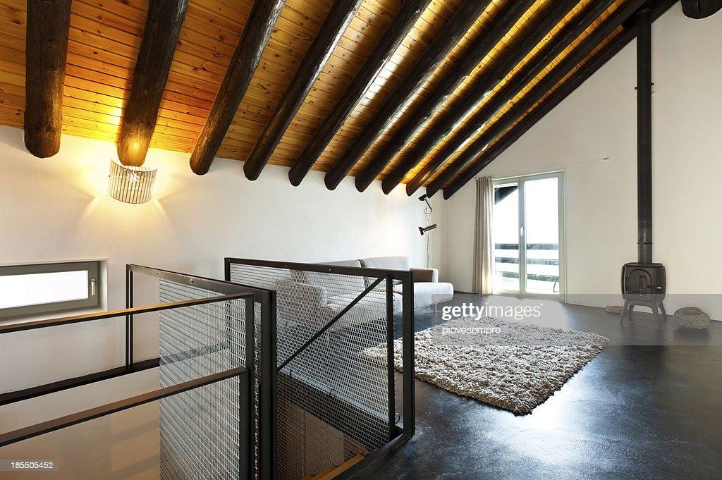Einrichtung Modernen Chalet Stock-Foto - Getty Images