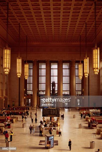 Interior of 30th Street Train Station