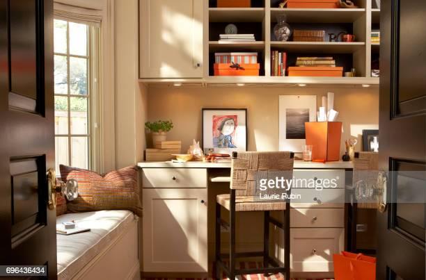 Interior of a Contemporary Home Office