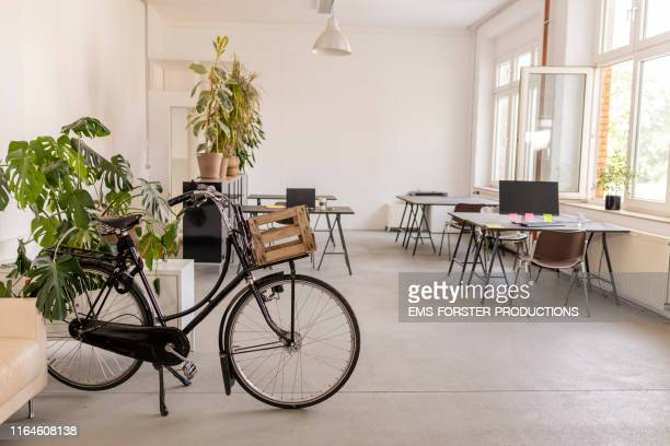 interior of a co-working space in berlin - design studio stock pictures, royalty-free photos & images