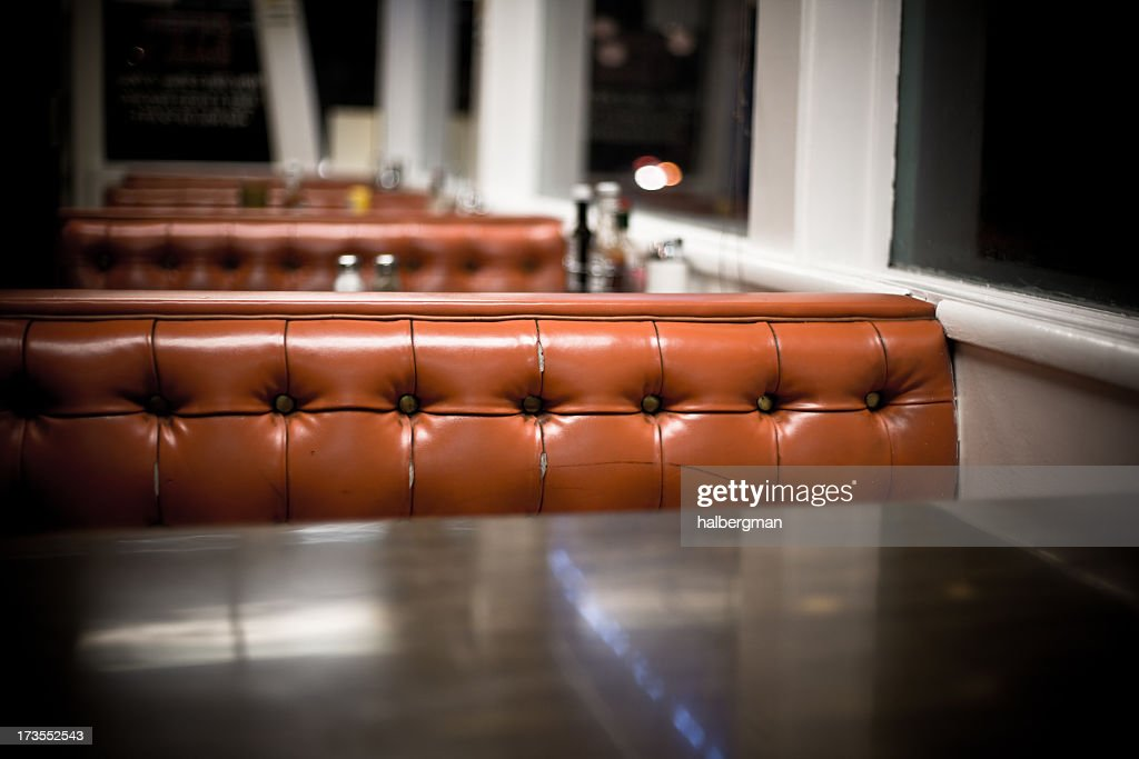 Interior of a Diner : Stock Photo