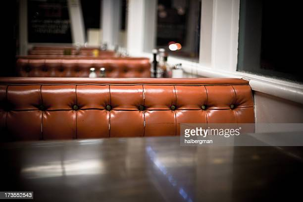 interior of a diner - vintage restaurant stock pictures, royalty-free photos & images