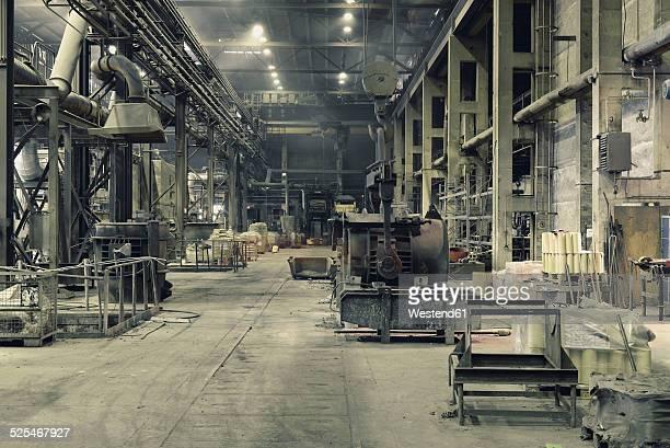 Interior of a foundry