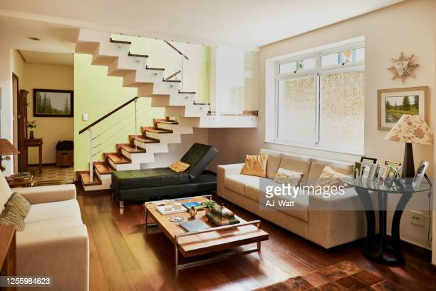 interior of a modern house - tidy room stock pictures, royalty-free photos & images