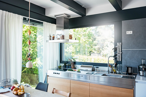 Interior of a modern kitchen - gettyimageskorea