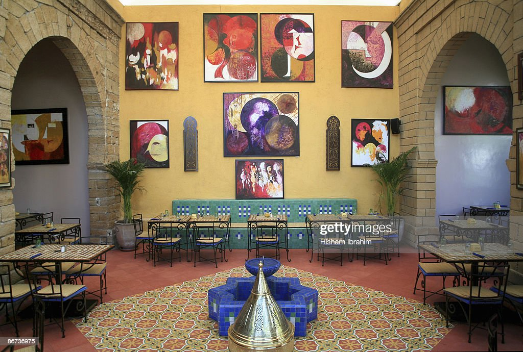 Interior Of A Moroccan Restaurant Casablanca High Res Stock Photo Getty Images