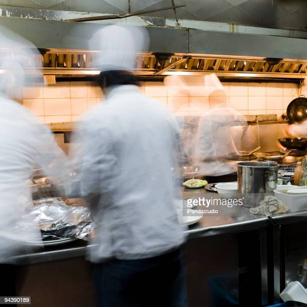 Innenansicht des restaurant kitchen