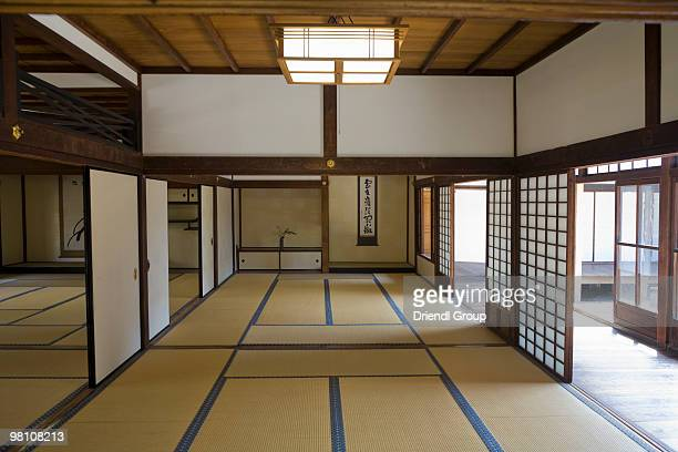 Interior of a Traditional Japanese Ryokan.