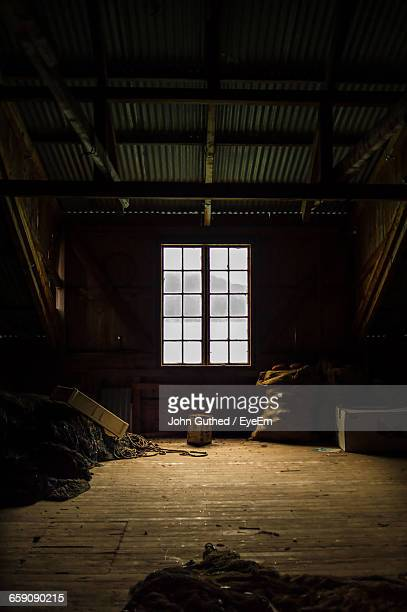 interior of abandoned factory - floorboard stock photos and pictures