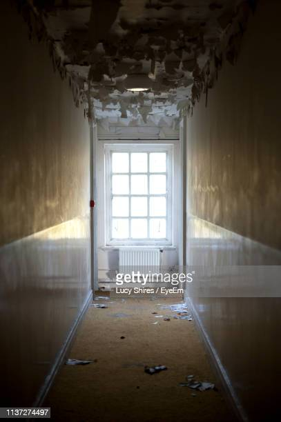 interior of abandoned home - lucy shires stock pictures, royalty-free photos & images