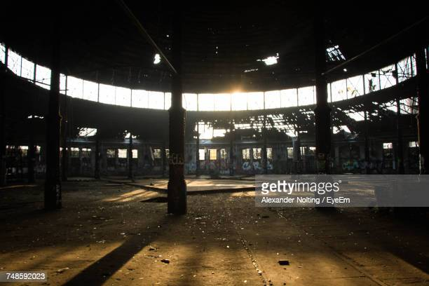 Interior Of Abandoned Industry