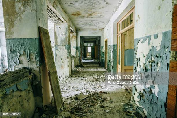 Interior Of Abandoned School