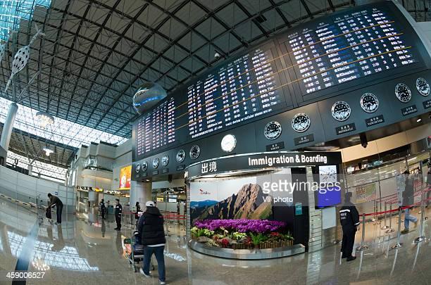 Interior do aeroporto