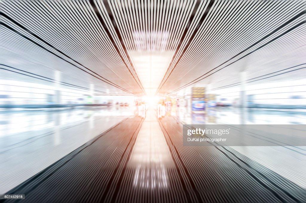 Interior Of Airport : Stock Photo