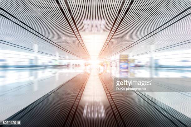 interior of airport - accessibility stock pictures, royalty-free photos & images