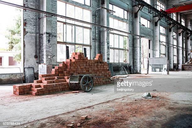 interior de un edificio industrial
