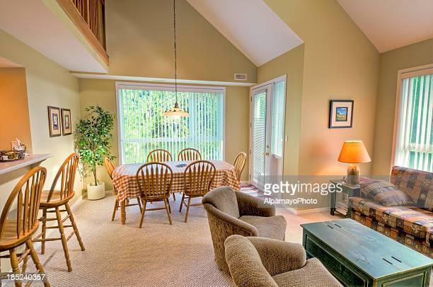 Interior of an mountainside condo apartment - II
